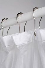 Metal Roller Shower Curtain Hooks