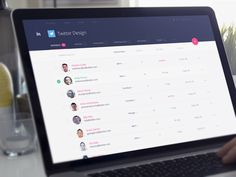 InVision v5 is just around the corner! Here's a look at the company management page I just restyled for our Enterprise Edition of the app. Press L to show some love Follow the InVision Team Not ...