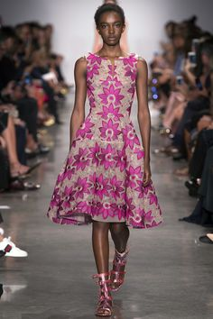 Zac Posen Spring 2017 Ready-to-Wear Fashion Show - Nicole Atieno
