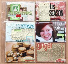 Amazing December Journal pages!!!