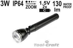 Yato professional #torch with high #power cree 3w diode, zoom, 228 mm  #(yt-08577,  View more on the LINK: http://www.zeppy.io/product/gb/2/171910561706/