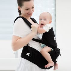 Innoo Tech Hipseat Ergonomic Baby Carrier   Breathable 3D Mesh Fabric Design for Summer   Front * You can find out more details at the link of the image.