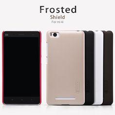 NILLKIN Frosted Shield PC Case for xiaomi mi4c mi 4c mi 4i  mi4i case back cover matte shell+Screen Film Hard Plastic Pro Case