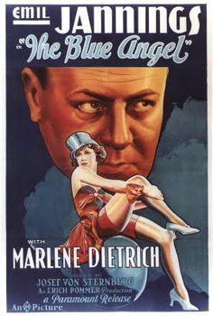 "Blue Angel - Marlene Dietrich -  1929 - ""Fallink in luff again."""