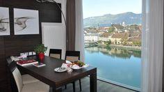 Ausblick aus Suite des RAMADA Hotel Solothurn