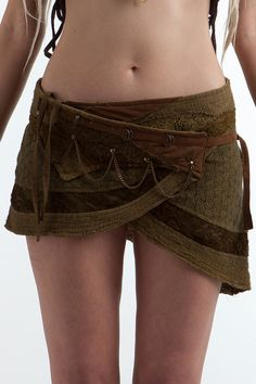 Steampunk skirt - Assorted colours, psytrance skirt, PIXIE SKIRT, ethnic skirt, goa Skirt, Elf Mini Skirt