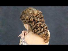 """Причёска - """"Гроздь винограда"""". Преподаватель: Роговая Е.М. Ученица: Людмила - Hairstyles by REM - YouTube"""