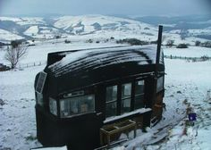 Boat Roof Shed in Wales Made Piecemeal From Recycled Goods (1)