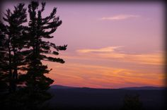pink sunset by debthepicturelady on Flickr.Via Flickr:  NH Sunset  Federal Hill Rd, Milford, NH