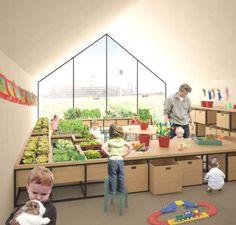 Ένα νηπιαγωγείο -φάρμα, που μαθαίνεις μέσω της καλλιέργειας και της επαφής με τη φύση