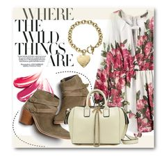"""""""Floral Fall"""" by stylemoi-offical ❤ liked on Polyvore featuring Monsoon, Michael Kors and stylemoi"""