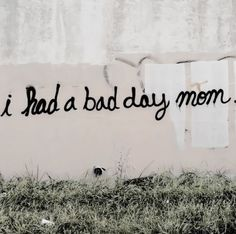 :( urban art graffiti street art typography quote words mom