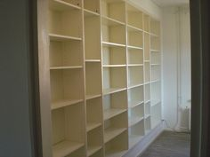Another builtin using Ikea Billy bookcases