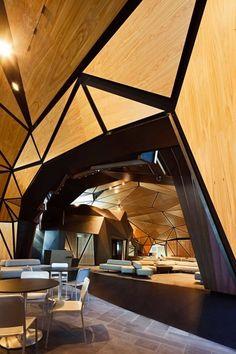 Keine Hobbit-Höhle: Das 2010 eröffnete Terminal von Wellington ist durch eine neuseeländische Sage inspiriert.