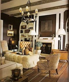 Dan Carithers for Atlanta Showhouse at Regents Park---Southern Accents Magazine May/June 2008