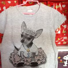 Little Grey Doggy Top 4-6 yrs S$12.90