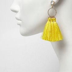 From statement necklaces to earrings, stackable rings and chokers, find all our jewelry here. Tassel Drop Earrings, Statement Earrings, Women's Earrings, Tassel Necklace, Jewelry Box, Women Jewelry, Stackable Rings, Jewelry Collection, Chokers