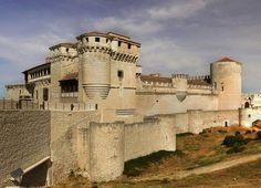 .Castilev de civella. Segovia, Spain