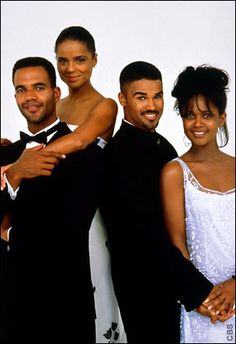Neil, Dru, Malcolm, Olivia.. (Y&R) these were the good ole days for soap operas... LUV ME SOME MALCOLM! LOL