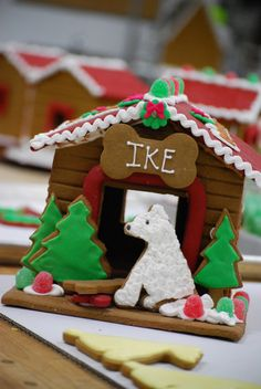 Find Fido a good home! The Solvang Bakery is donating $5 for every Gingerbread Dog House sold in 2013 to the ASPCA®. Please help spread the word by sharing!
