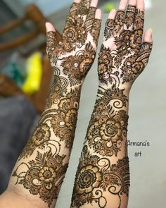 Check out these stunning floral mehendi designs for the modern brides-to-be. Bridal mehndi design ideas and inspiration at ShaadiWish.