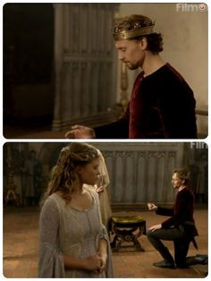 Henry V wooing Catherine