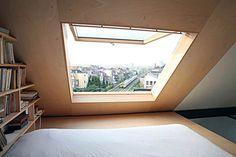 La voglio così la finestrona dello stanzone! Bella grande!!!