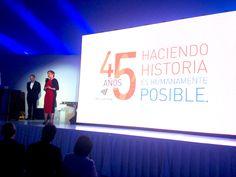 Gran discurso el de Mónica Flores, Directora General de ManpowerGroup México y Centroamérica, en el evento de los 45 años de la empresa.