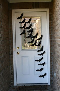 Halloween - Simple bats that make a statement...inside and out.