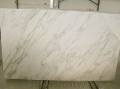 Marble - Calacatta Gold (this slab has less vein) | from Italy