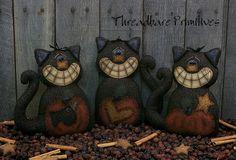 Primitive Halloween Patterns, Primitve Halloween Doll Patterns