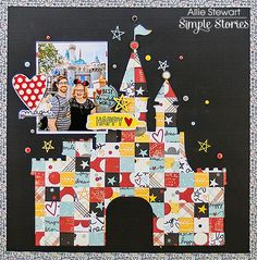 Layout with Say Cheese III from creative team member Allie Stewart