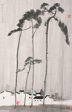 【天狼收藏】当代中国画全集-山水卷(吴冠中) - 天狼 - 指尖缘