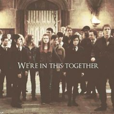 We're in this together // Dumbledore's army❤️