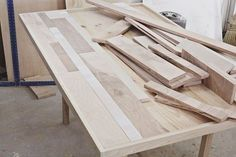 Make It: DIY Scrap Wood Dining Table | Man Made DIY | Crafts for Men | Keywords: scrap, diy, woodworking, wood