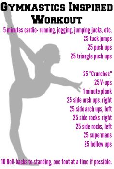 gymnastics conditioning routine - Google Search