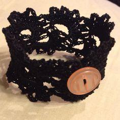 Crochet bracelet by @Carmen Yee Lucero