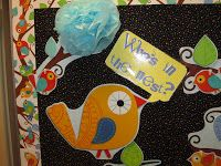 Krissy's Kindergarten: Boho Birds Bulletin Board Set