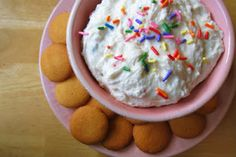Funfetti Dip for the family! It's a huge hit!! Check out my blog for more details!