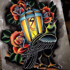 big crow tattoo - Google Search