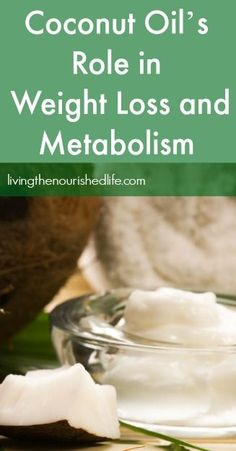 Coconut Oil's Role in Weight Loss and Metabolism - most find it hard to grasp how intake of oil can decrease your bodyweight, I´ve had the experience myself so I KNOW it works.