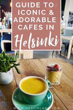 Helsinki cafes are a coffee enthusiast's dream! Read all about them in this article. #helsinki