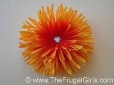 DIY Tutorial DIY Felt Crafts / DIY Cute Little Flower Hair Snap Clips - Bead&Cord
