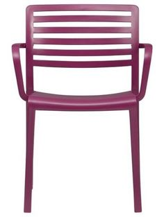 contemporary outdoor chairs by Crate -- purple!!