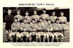Shrewsbury Town team group in 1965-66.