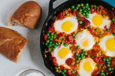 Great Portuguese-Style Peas with Chorizo and Eggs..., ,
