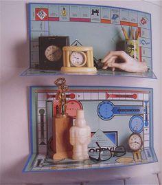 Game room idea--rather than throwing away or garage saling old games