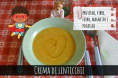 Mammarum: Crema di lenticchie (e miglio)