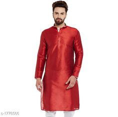 Kurtas Ethnic Silk Solid Kurta Fabric: Silk Sleeves: Sleeves Are Included Size: S M L XL XXL (Refer Size Chart For Details) Length: Refer Size Chart Type: Stitched Description: It Has 1 Piece Of Men's Kurta Pattern: Solid Country of Origin: India Sizes Available: S, M, L, XL, XXL   Catalog Rating: ★4 (293)  Catalog Name: Mens Ethnic Silk Solid Kurtas Vol 2 CatalogID_233450 C66-SC1200 Code: 724-1778566-2601