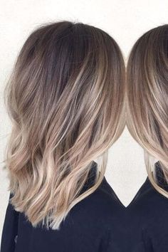 75 Sombre Hair Ideas for a Stylish New Look . Reverse Ombre Hair, Dark Ombre Hair, Best Ombre Hair, Brown Blonde Hair, Brunette Hair, Ombre Hair Color For Brunettes, Hair Color Balayage, Sombre Blond, Brown Sombre